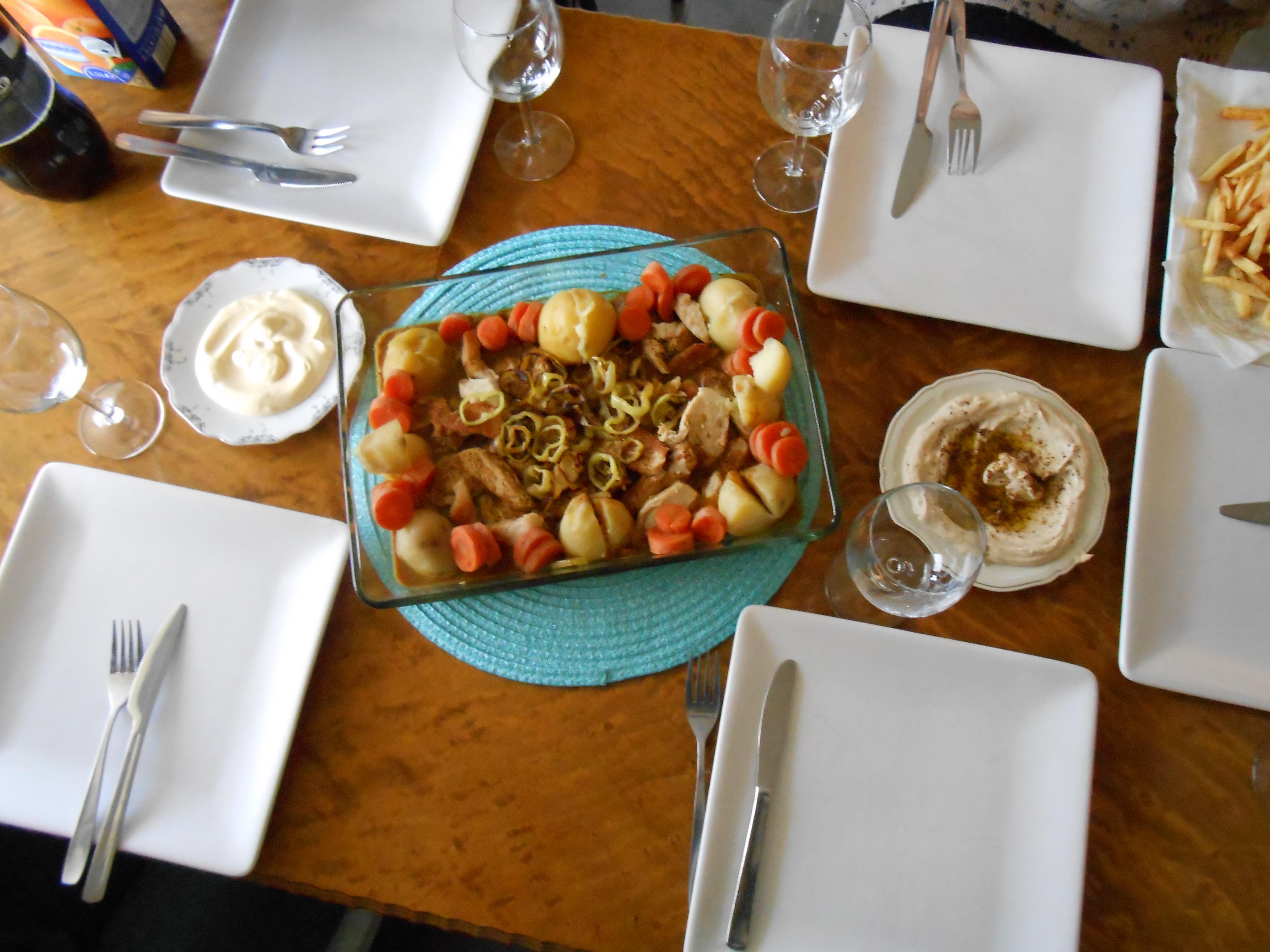 pranzo siriano